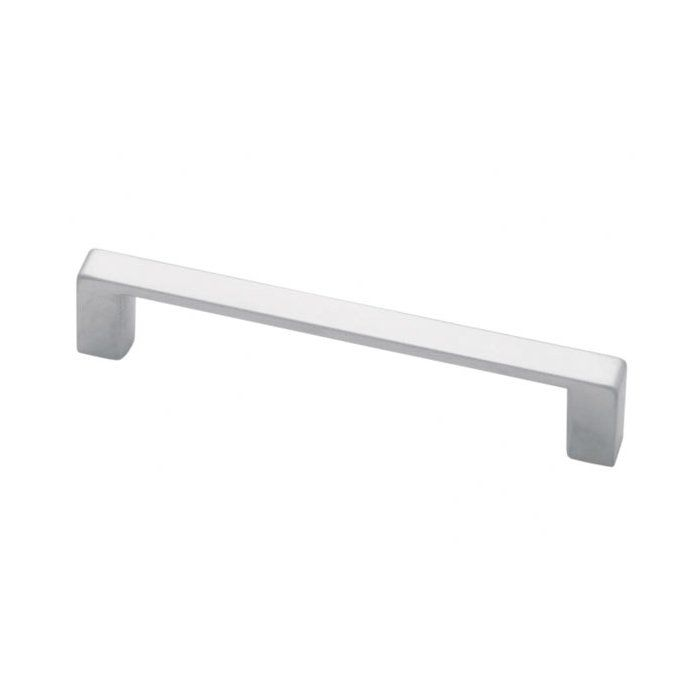 The lines of this pull fit several design aesthetics including modern and casual home decor and would be a beautiful accent to any cabinetry or furniture. Installs easily and is a noticeable change for any cabinetry.