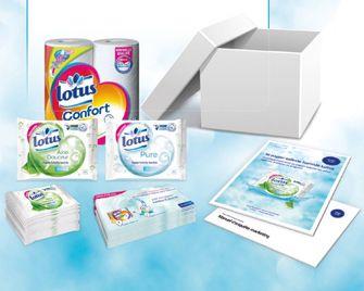 testeurs de produit Trnd : 4000 Paquets de papier toilette humide Lotus !