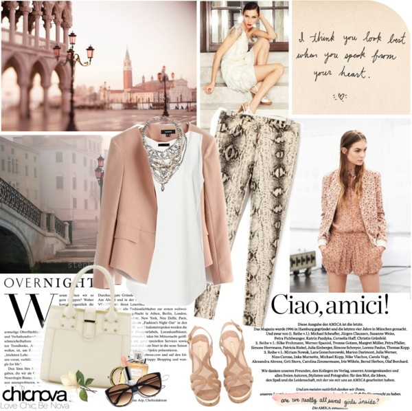 """Ciao, Venice"" by electric-bird on Polyvore"