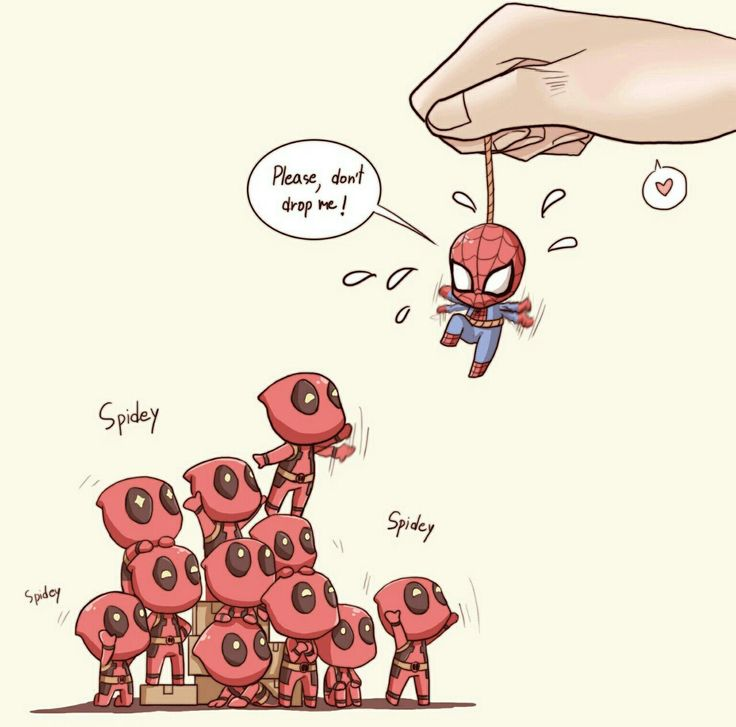 #Spideypool #Deadpool #Spiderman