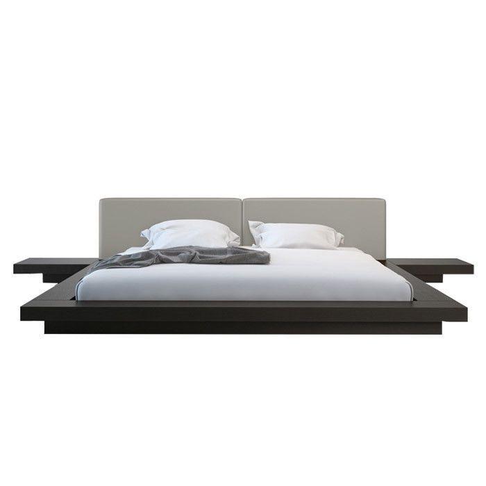 25 best ideas about floating platform bed on pinterest for Modern floating bed