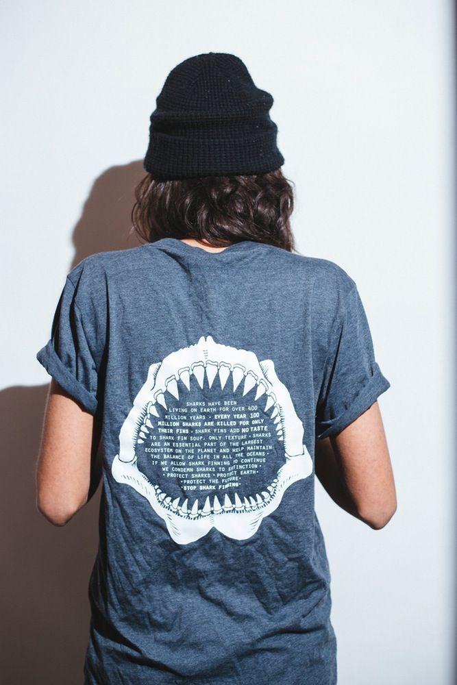 Image of Stop Shark Finning Shirt- Jaws