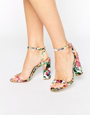 ASOS HERMIONE Heeled Sandals--OMG I need these.