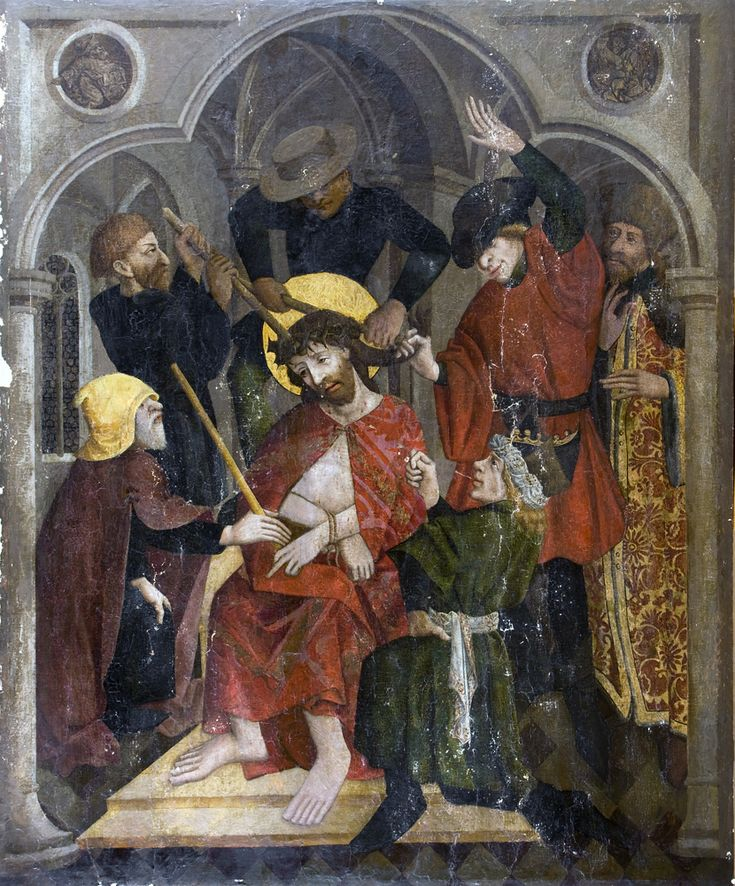 Nicolaus Haberschrack, Cierniem ukoronowanie Chrystusa