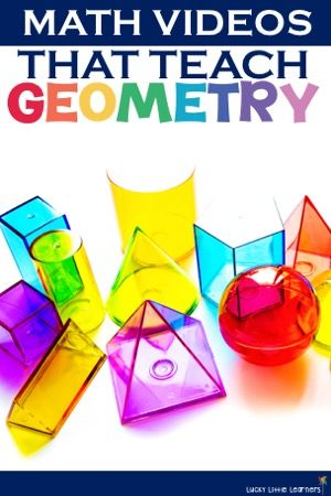 Your students may not expect you to play a video during math instruction, which gives your lesson an unexpected twist!   These geometry videos cover symmetry, polygons, 3D shapes, congruency, and more!