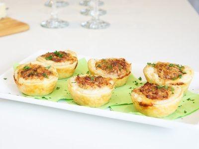 Spinach and Bacon Mini Quiche recipe
