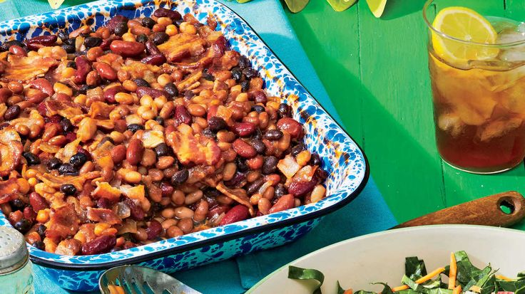 Rum Baked Beans - July 2016 Recipes   Potato wedges recipe ...
