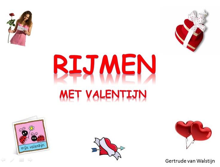Voor op het digibord: Rijmen met valentijn (groep 1 en 2)  leermiddel.digisc...
