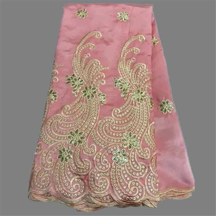 Giá rẻ Khá bên trang phục màu hồng Material thêu nguyên liệu tơ thô Phi george vải ren cho trang phục OG28 2 (5 yards/lô), Mua Chất lượng Vải trực tiếp từ Trung Quốc nhà cung cấp: Chào mừng bạn đến cửa hàng của chúng tôi, thưởng thức mua sắm của bạn!nóng bán Phi george vải renVật l