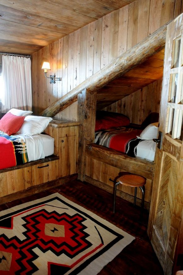 superb Log Cabin Decor Clearance Part - 12: 31 Beautiful Hidden Rooms And Secret Passages | Bed | Bedroom, Cabin, House
