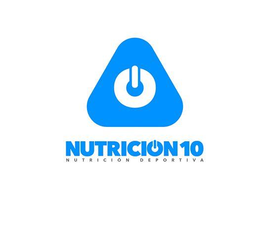 Diseño de la identidad corporativa de Nutrición 10 realizada por Root Studio www.rootstudio.es  #diseño #design #logo #logos #graphicdesign #diseñográfico