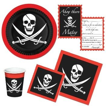 pirate party at lewis elegant party supplies plastic dinnerware paper plates and napkins