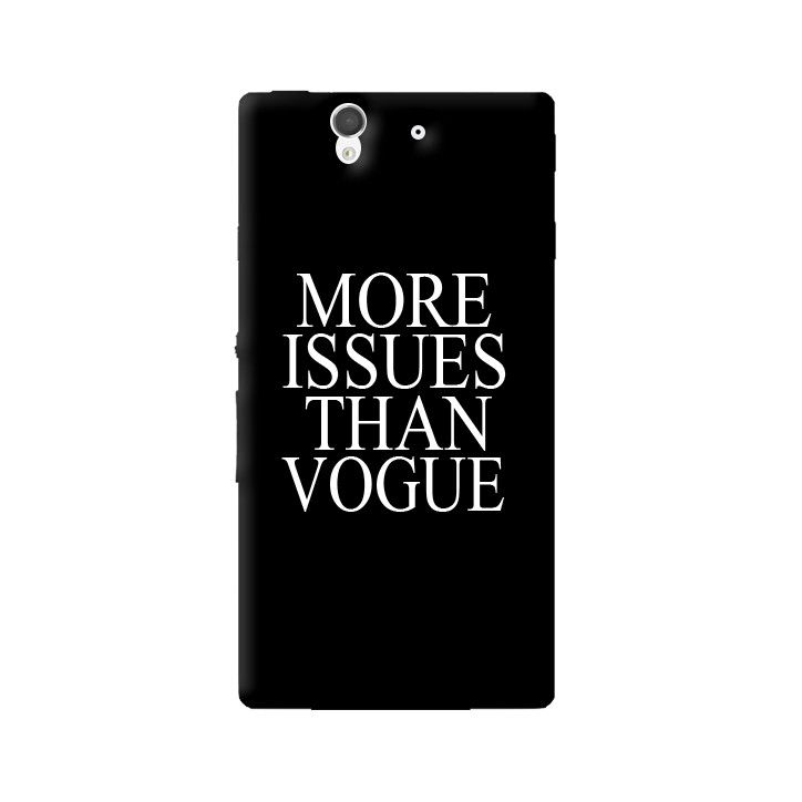 More Issues Than Vogue Sony Xperia Z Case from Cyankart