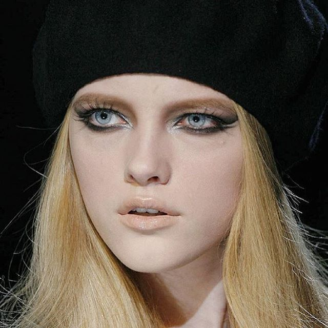 Vlada Roslyakova - I forgot there was this birthmark on my forehead, it disappeared  #Flashback #versace