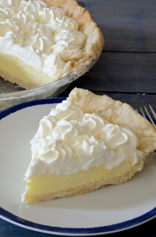 Lemon Chiffon Pie - a light airy dessert for any time of the year!