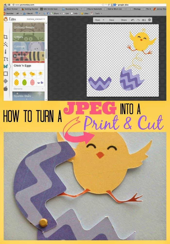 Silhouette School: How to Turn Any JPEG Into a Silhouette Print and Cut (also works for PNG files)