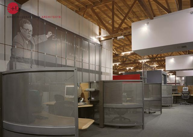 107 best images about best cubicles on pinterest the - Industrial look office interior design ...