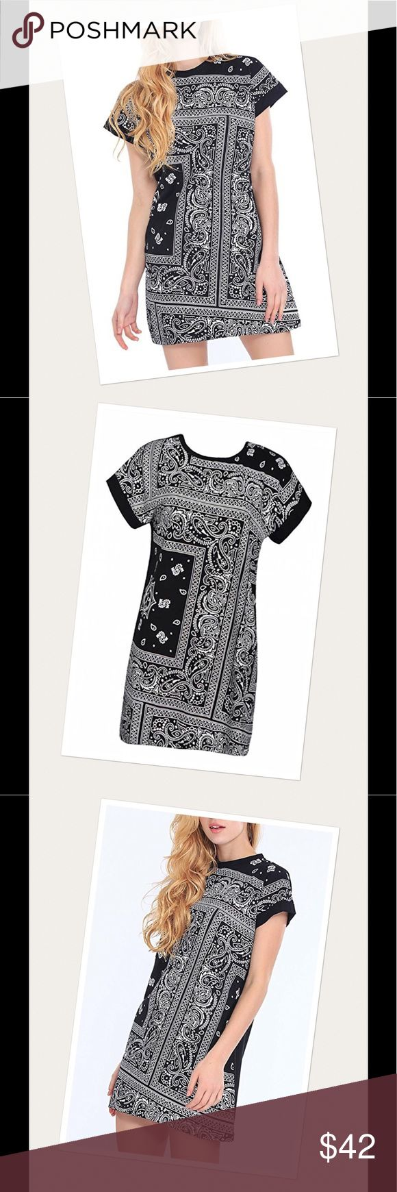 Festival t shirt dress Brand new with tags. Black or navy blue. 100% cotton. Above knee, mini dress. O neck. Available sizes: extra small, small, medium, large, extra large. Posh rules only. No trades. No paypal. No low ball offers. Pls and thanks. Serious buyers only. Bundle your likes and I'll send you a private discounted offer. Dresses Mini