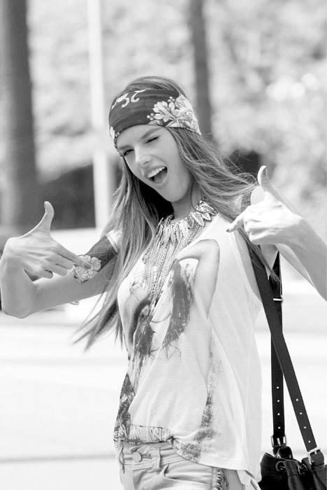 hippie chick..~