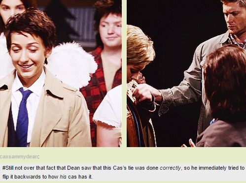 [GIFSET] 10x05 Fan Fiction_yes...yes these are tears of joy streaming on my face...oooh the Destiel!!!<3