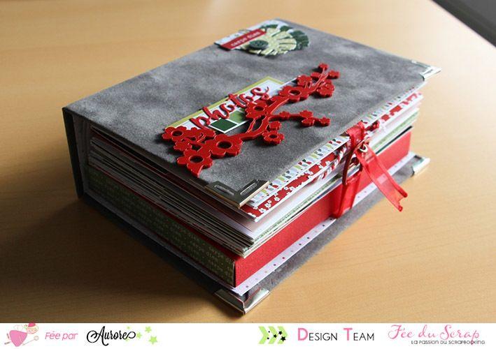Bonjour, Le kit de décembre est enfin disponible! Nous nous excusons pour le retard, mais notre Fée vient juste de recevoir les jolis papiers Lilly Pot'de Colle, que nous attendions désespérément. Je suis très heureuse d'avoir réalisé cet album pour mettre...