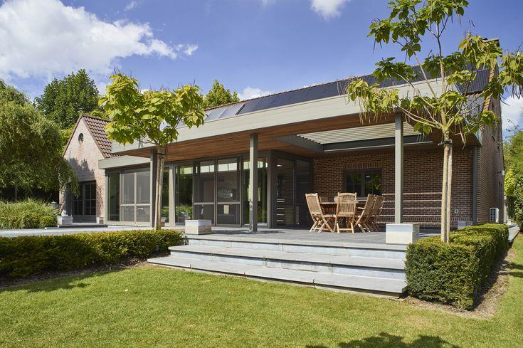 Maison Avec Veranda Intgre. Awesome Extension Une Extension De ...