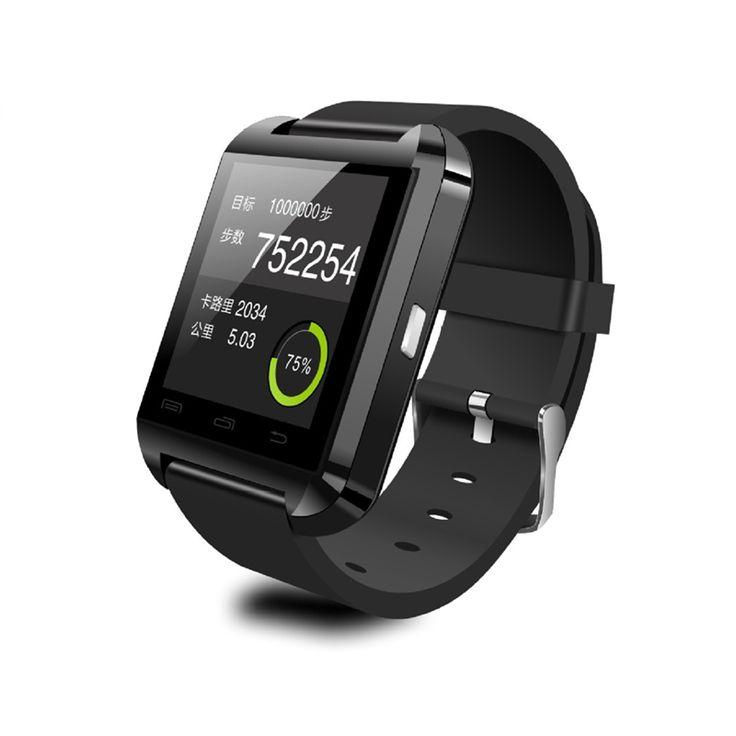 Smartwatch Bluetooth Smart Uhr U8 Armbanduhr U Sport Uhren mit Schrittzähler Mitteilung SMS Sync Anruf Erinnerung Remote Camera //Price: $US $11.37 & FREE Shipping //     #meinesmartuhrende