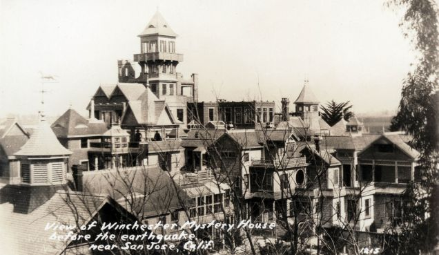 Haunted Winchester Mystery House to Allow Overnight Stays (and Booze)! - I would be too terrified to stay, but it's a beautifully designed place!