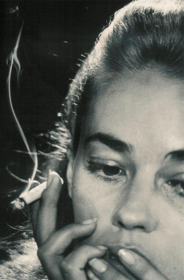 "seventiessixties: ""  Jeanne Moreau by David Bailey, 1964 """