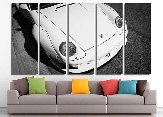 Porsche Print Porsche Poster Porsche Canvas Porsche Photo Porsche Wall Decor Porsche Home Decor Porsche Wall Art Sport Retro Home Retro Home Decor Decor