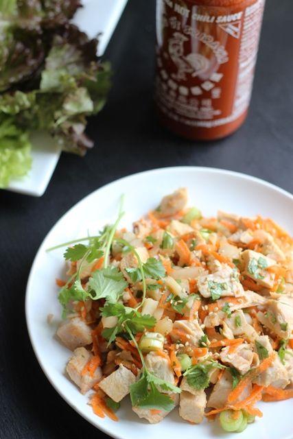 Ginger-Sesame Turkey Salad | Good Cheap Eats