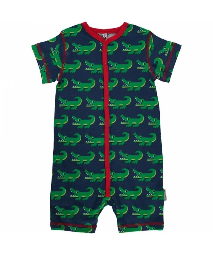 Crocodile Rompersuit from Maxomorra. Available at Modern Rascals.