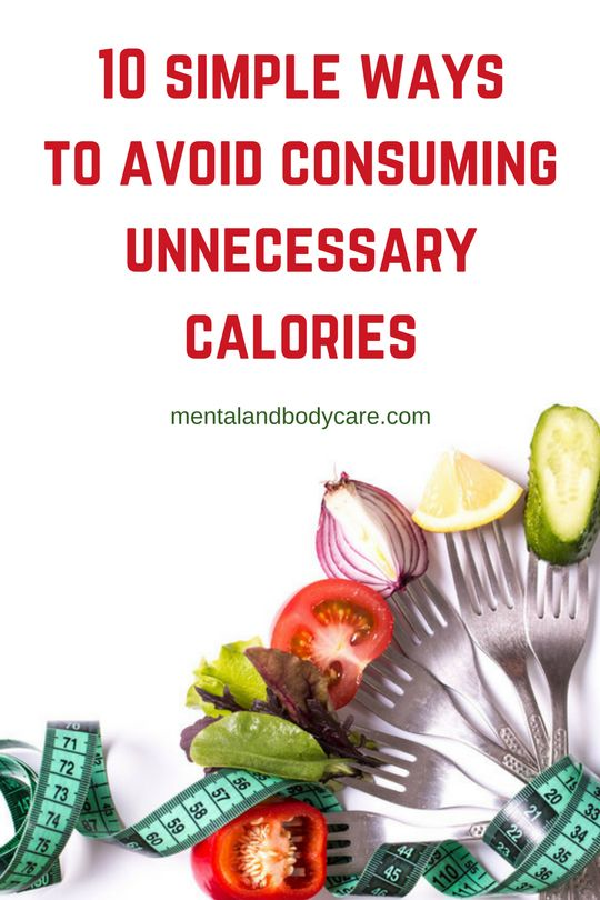 Here are a few simple and easy, yet powerful #tips that might help you  to reduce the unnecessary #calories in your #diet.