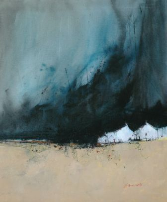 Scottish Artist James SOMERVILLE - Storm Cloud