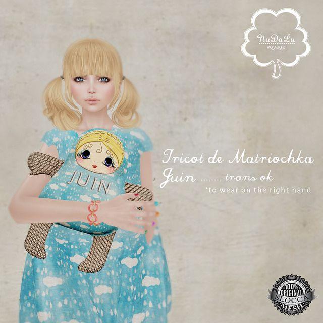 NuDoLu Voyage Tricot de Matriochka Juin AD | Flickr - Photo Sharing!