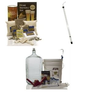 Gold Homebrew Kit with Auto-Siphon and Oktoberfest | Home Brewing Supplies from Monster Brew