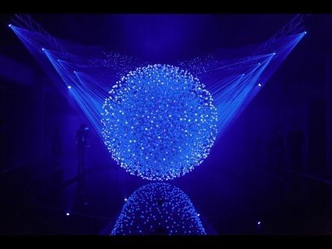 FLUIDIC - Sculpture in Motion - (kinetic sculpture) full documentation 2014 - YouTube- with interactive light