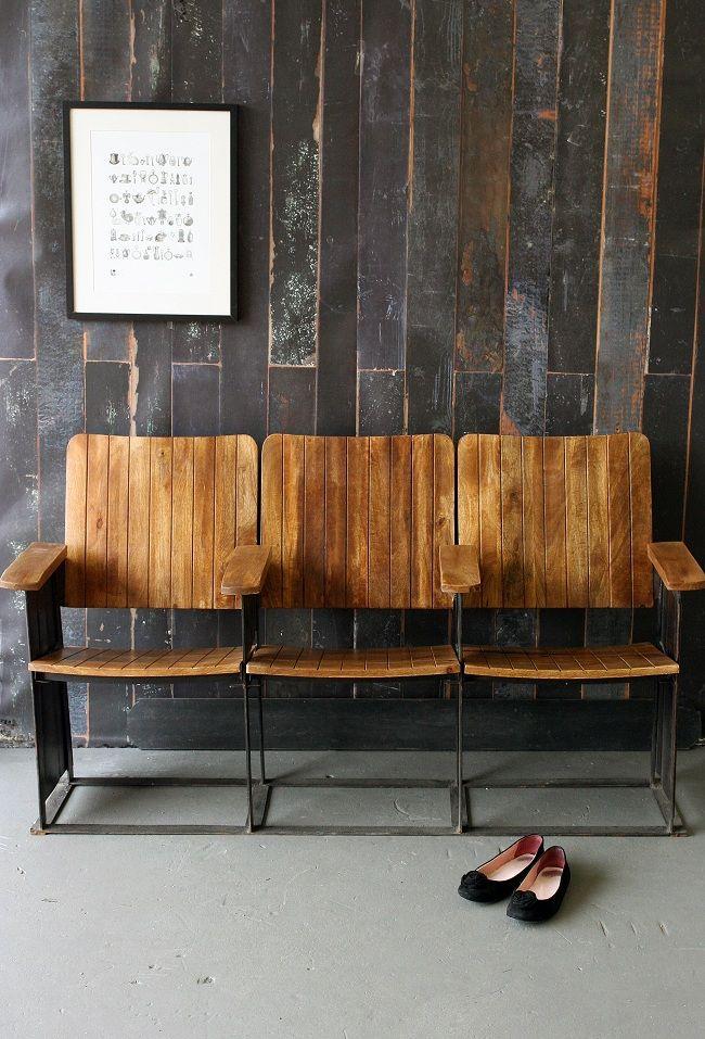 Three Seater Theatre Bench, Rockett St George
