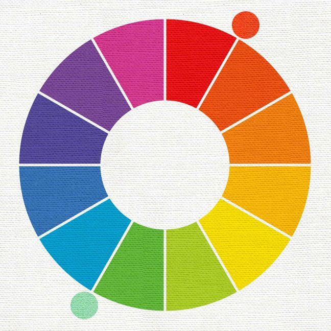 Complementary Color Of Pink 132 best color wheel images on pinterest |  colors, color theory