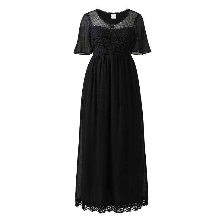 Jr Lace Maxi Dress | SimplyBe EU Site