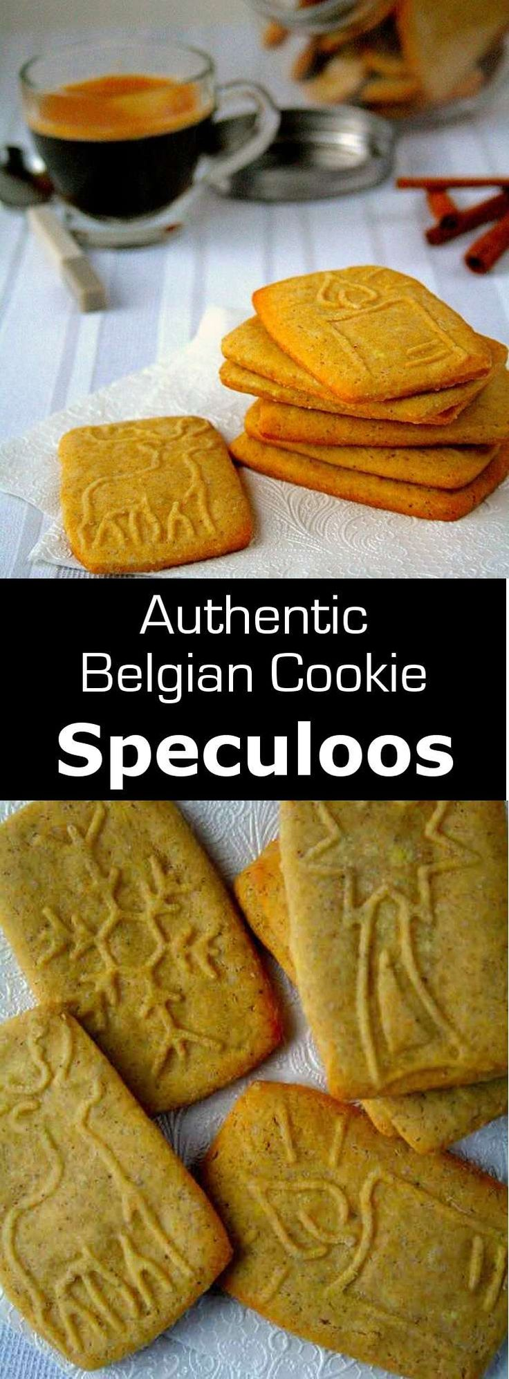 Speculoos are delicious and traditional St. Nicholas cookies from Belgium, with a distinct spiced flavor which can now be enjoyed all year. #cookie #belgium #196flavors