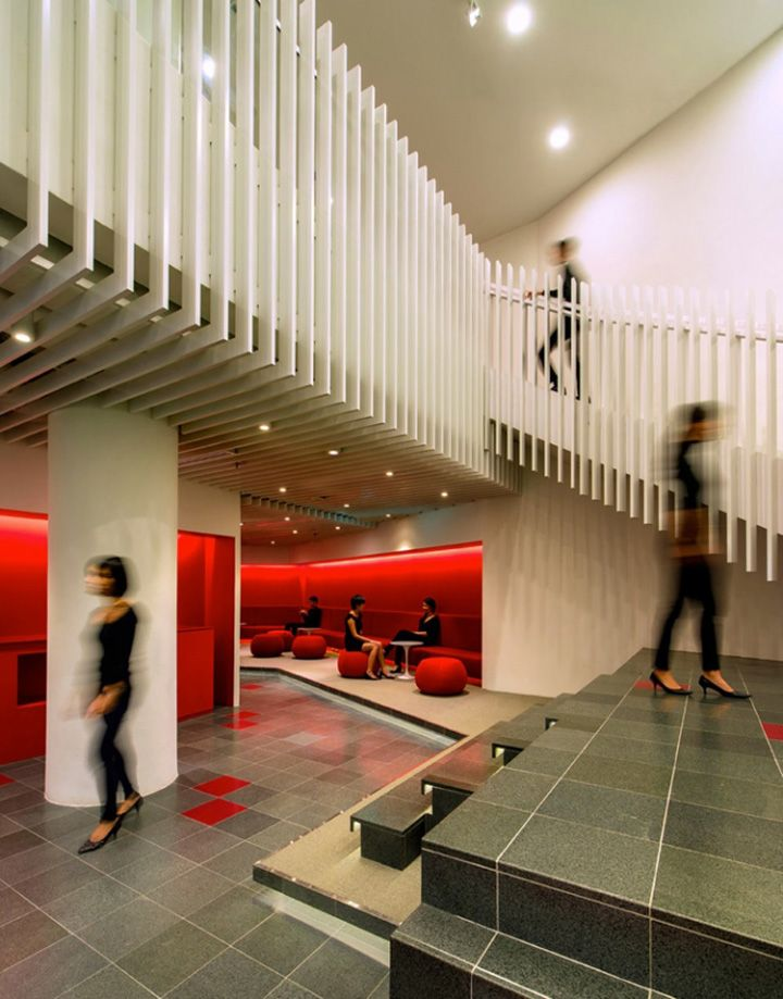 OCBC Campus By Ministry Of Design Singapore Retail Blog Commercial InteriorsContemporary