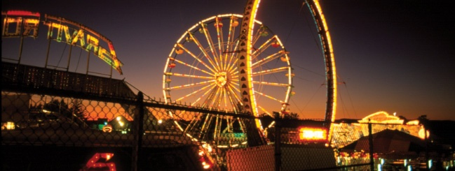 How I loved the Fair. School closed and a free ticket to get in!