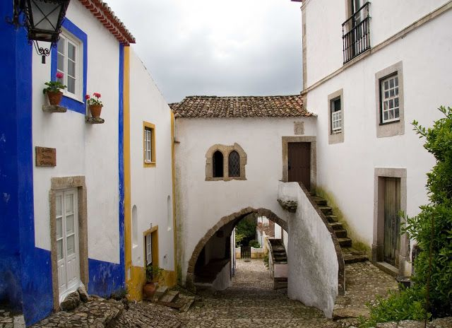 THE VILLAGE. ÓBIDOS. PORTUGAL.