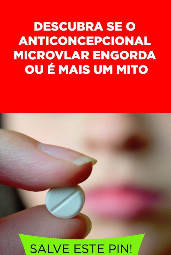 Anticoncepcional Microvlar Engorda Anticoncepcional Engordar E