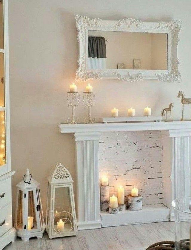 Best 25+ Faux fireplace ideas on Pinterest   Fake ...