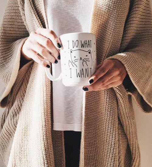 Tags mais populares para esta imagem incluem: cat, autumn, coffee, indie e cool
