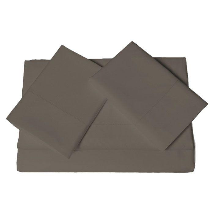 600 Thread Count 4 Piece Egyptian Cotton Sateen Deep Pocket Sheet Set