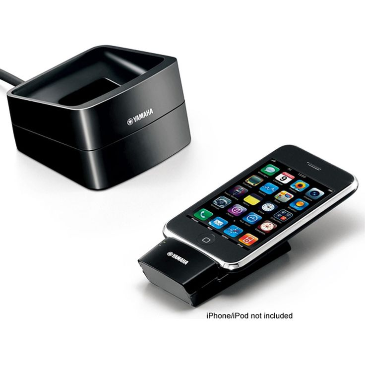 The Yamaha YID-W10 is a wireless iPod / iPhone dock for use with compatible Yamaha AV receivers.