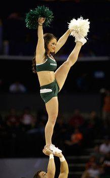 Consider, that Michigan state spartans cheerleaders